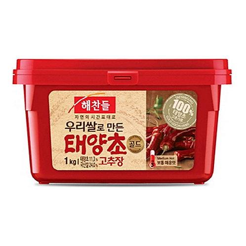 1 kg | 해찬들 | 태양초 고추장 | Korean Hot Pepper Paste