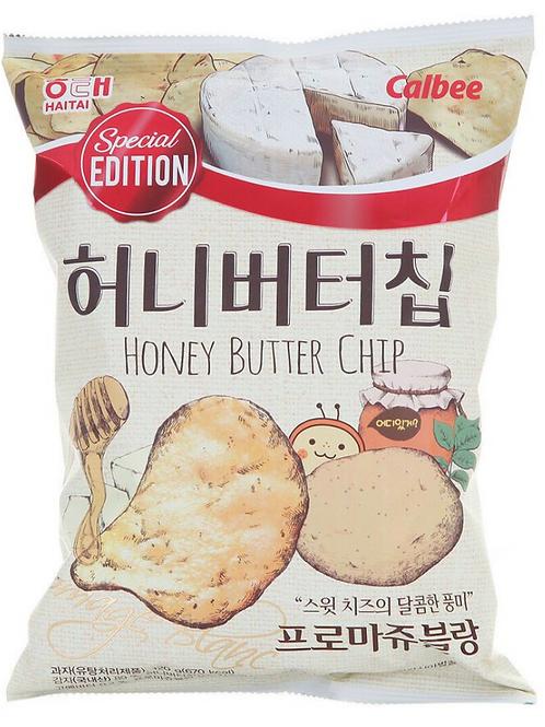 60g 버터칩 프로마쥬블랑/ Honey Butter Chip Special Edition