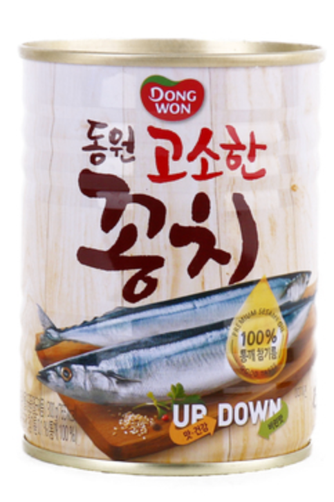 300g 고소한 꽁치 캔 / Canned Pacific Saury