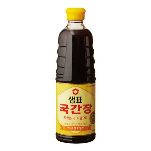 930ml 샘표국간장/Sempio Soy Sauce (Best for Soup)