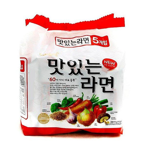 575g 맛있는 라면/ Samyang Vegetable Noodle Soup