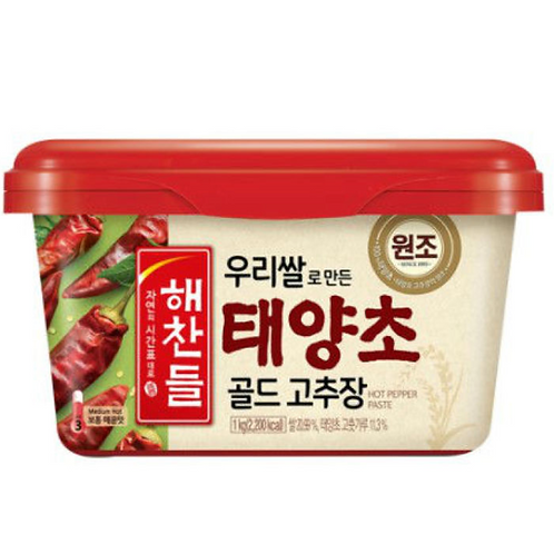 3kg 해찬들 태양초 고추장 / Hot Pepper Paste