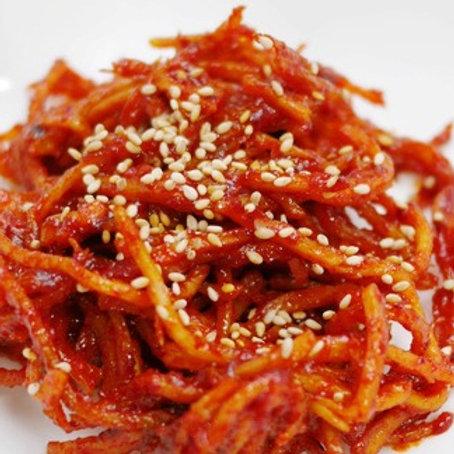 진미채 140g 炒乾魷魚絲