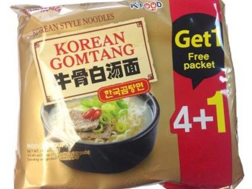 550g 한국곰탕면 / Korean Style Gomtang Noodles