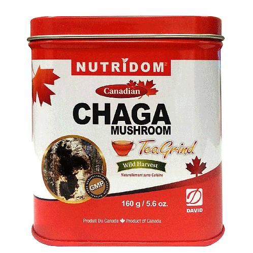 Nutridom Chaga Mushroom Tea Grind 160g (5.6 oz)