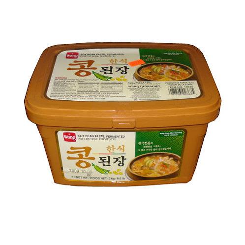 1kg 왕 콩된장 한식/ WANG Korean Soybean Paste (DOENJANG)