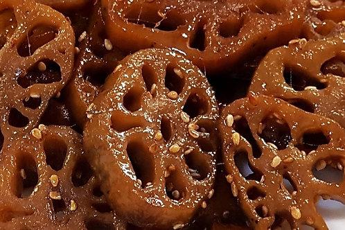 300 g | 연근조림 | Seasoned & Braised Lotus Root | 酱莲藕
