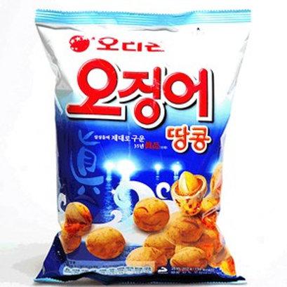 오징어땅콩 Cuttle Fish Flavored Peanut Ball Snack 98g