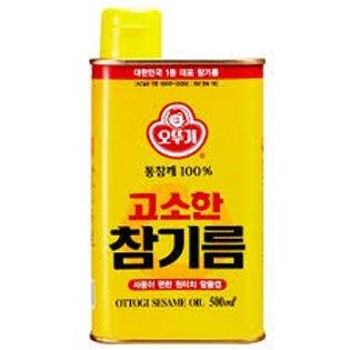 500ml 오뚜기 참기름 / OTTOGI Sesame Oil