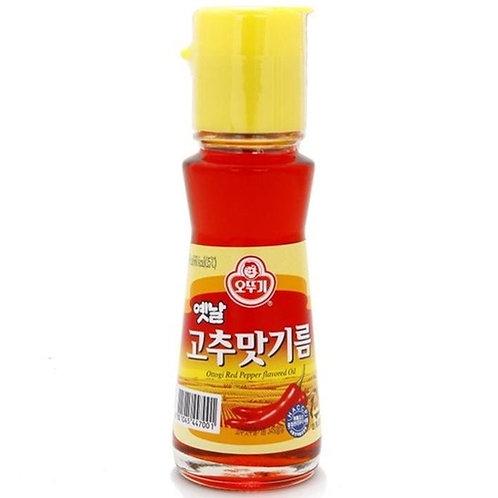 80ml 오뚜기 옛날 고추맛기름/OTTOGI Red Pepper Flavoured Oil