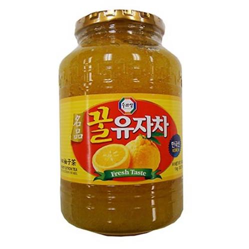 1kg 수라상 꿀 유자차 / Yujacha Citron Tea With honey