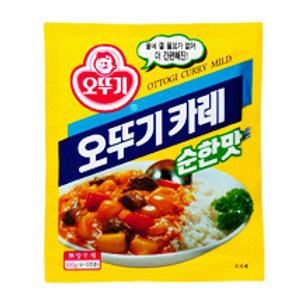 100g 오뚜기 카레가루 (순한맛) / Korean Yellow Curry Powder (Mild)