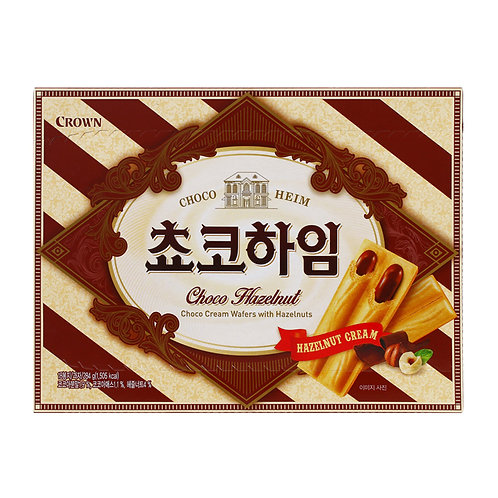 284g 쵸코하임 / Korean Biscuit with Chocolate Hazelnut Cream