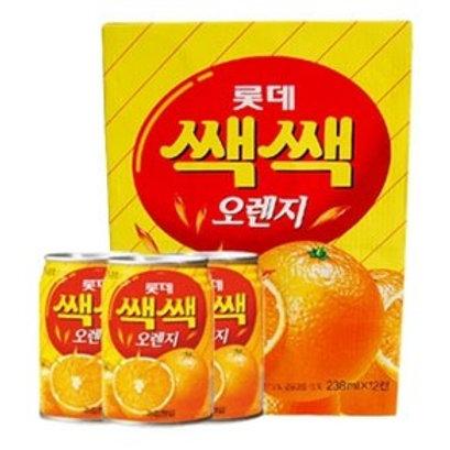 쌕쌕 오랜지 박스 / Orange Juice