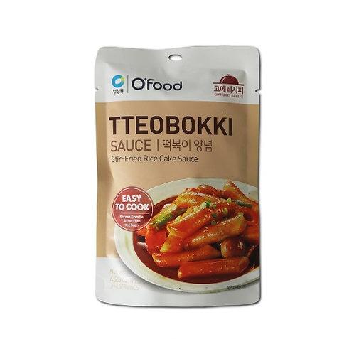 120 g | 오푸드 | 떡볶이 양념 | Rice Cake Tteobokki Sauce | 3 Servings