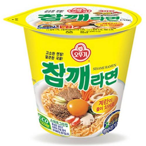 65g 참깨라면 / Sesame Flavour Cup Noodles