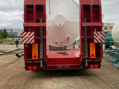 Отгрузка резервуаров РГСн-50 для хранения дизельного топлива