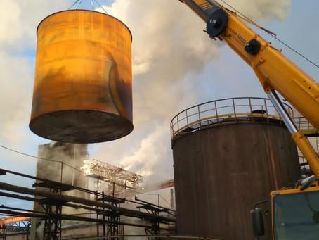 Проект по изготовлению и монтажу резервуара РВС-500