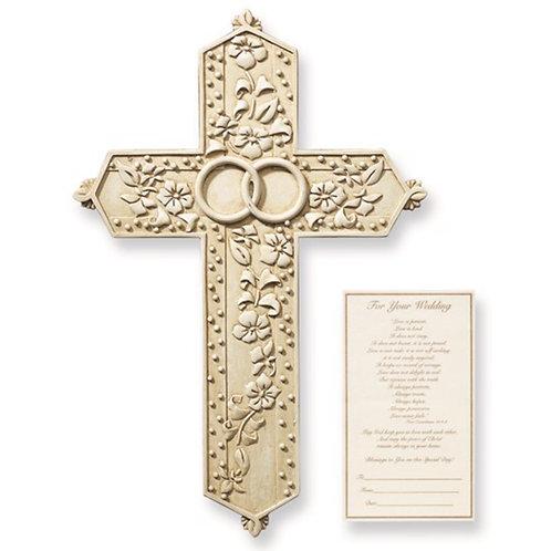 Tomaso Wedding Wall Cross