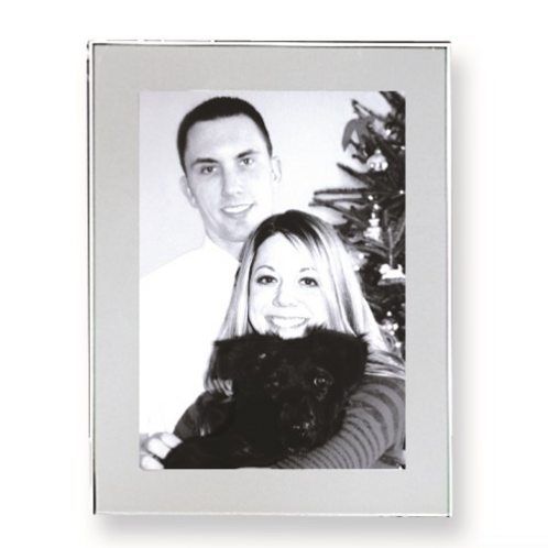 Silver-Plated 5x7 Photo Frame