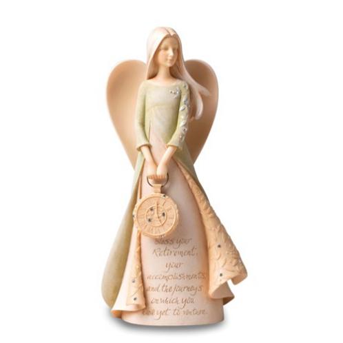 Foundations Retirement Angel Figurine