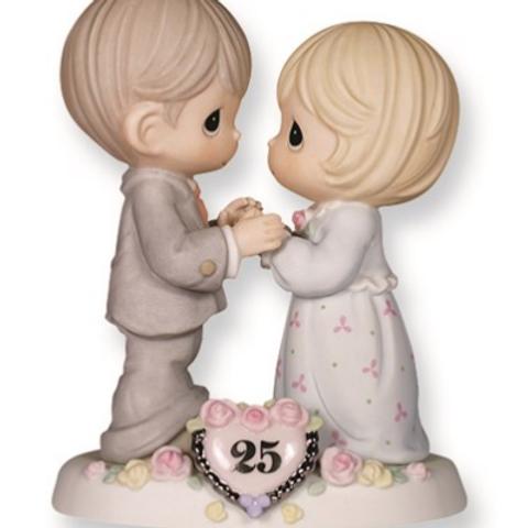 Precious Moments 25th Anniversary Figurine