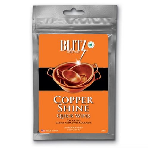 Copper Shine 30 Disposable Quick Wipes