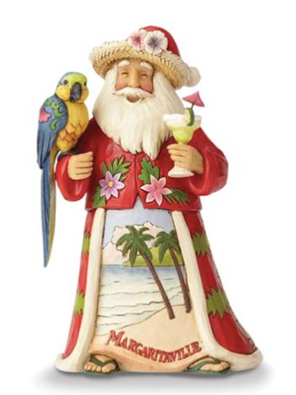 Jim Shore Margaritaville Santa Figurine