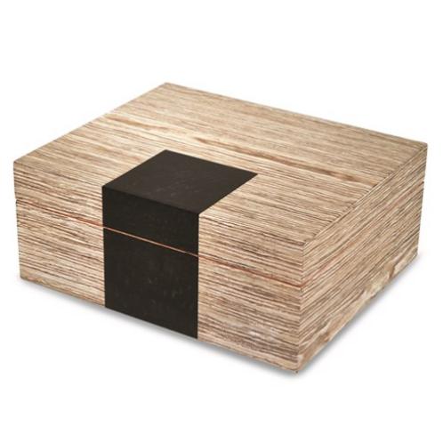 White Wood Finish Humidor