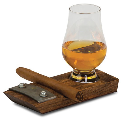 Glencairn Whiskey and Cigar Coaster