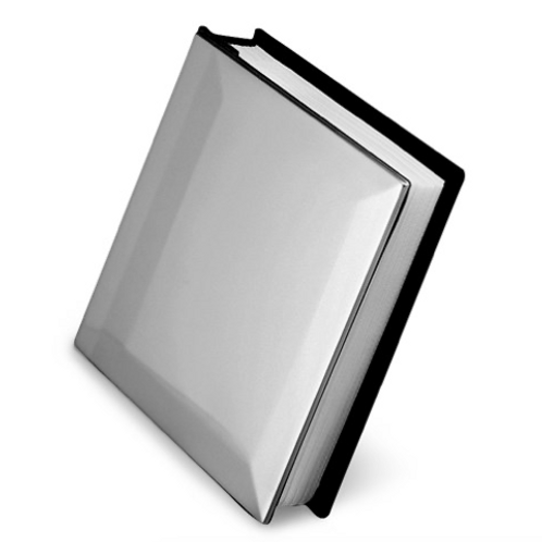 Pewter Finish Solid Cover (Holds 100 - 4x6 Photos) Photo Album