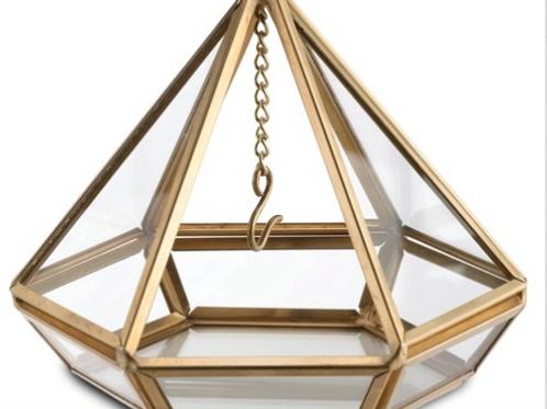 Lillian Rose Gold Prism Ring Holder