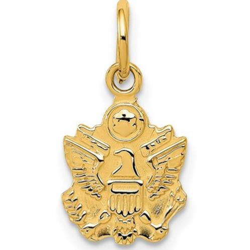 14k U. S. Army Insignia Charm