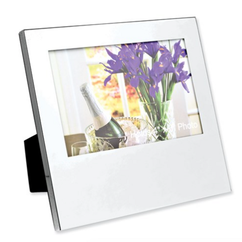 Nickel-Plated Oversized 4x6 Photo Frame