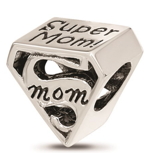 Sterling Silver Reflections Super Mom Bead
