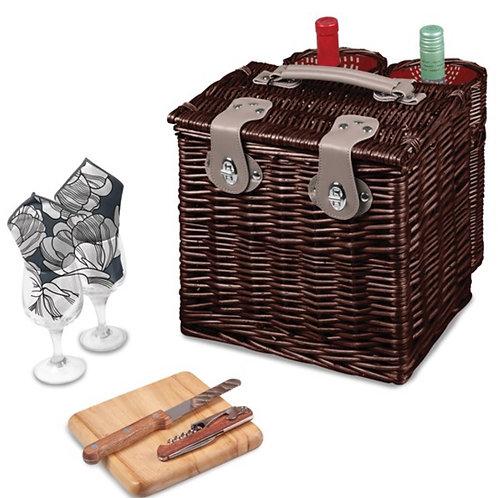 Vino Harmony Wine and Cheese Basket