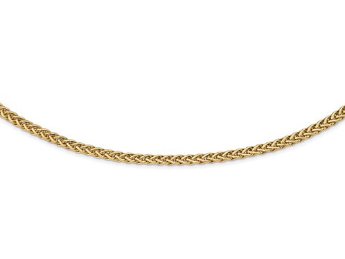 14k Polished Fancy Link Necklace