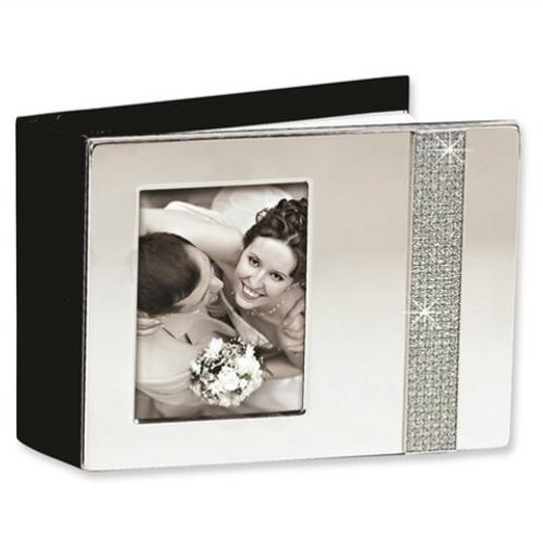 Nickel-Plated (Holds 80- 4x6 Photos) Glitter Photo Album