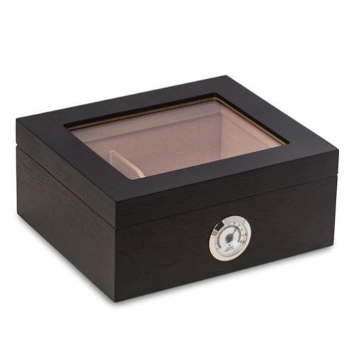 Espresso Finish Wood 50-Cigar Humidor