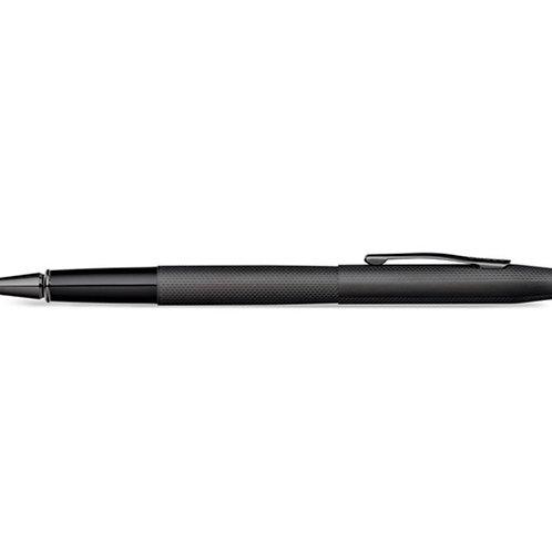 Century Brushed Black Diamond Engraved Selectip Rollerball Pen