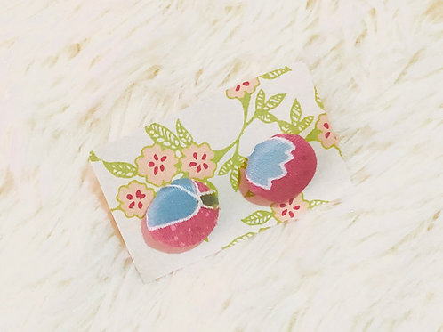 Ningyo Pink Earrings