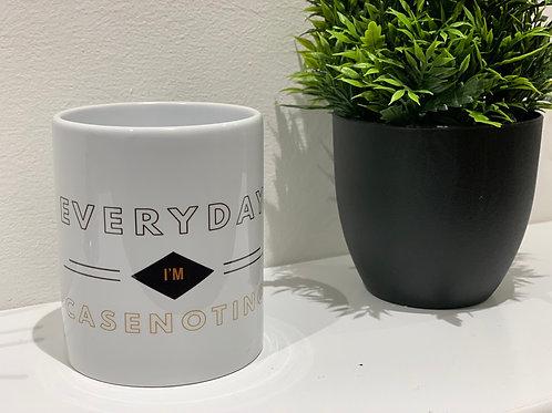 Everyday im casenoting  | White Plain Mug