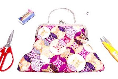 Orielle Cheongsam Bag - Purple