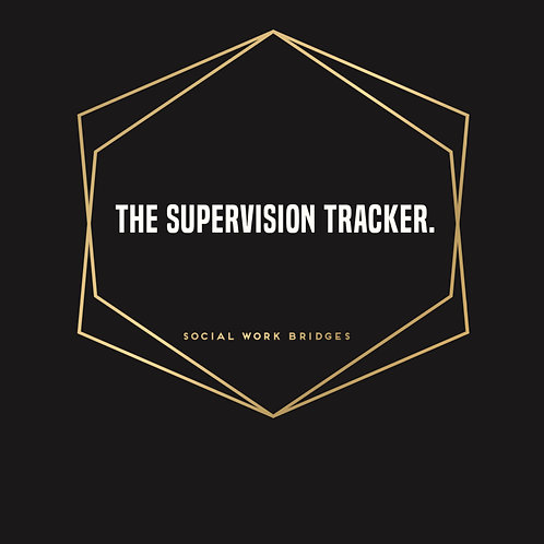 2019 | The Supervision Tracker Hardcopy