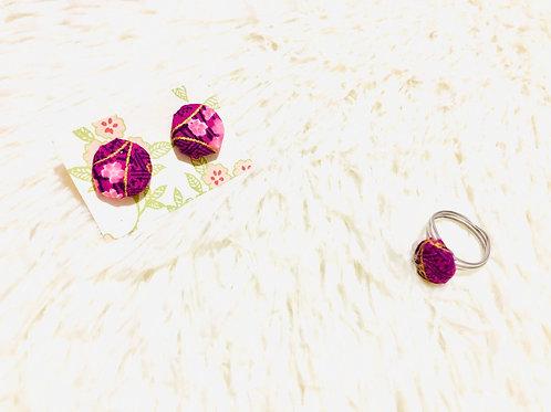 Cheongsam Purple Gift Set