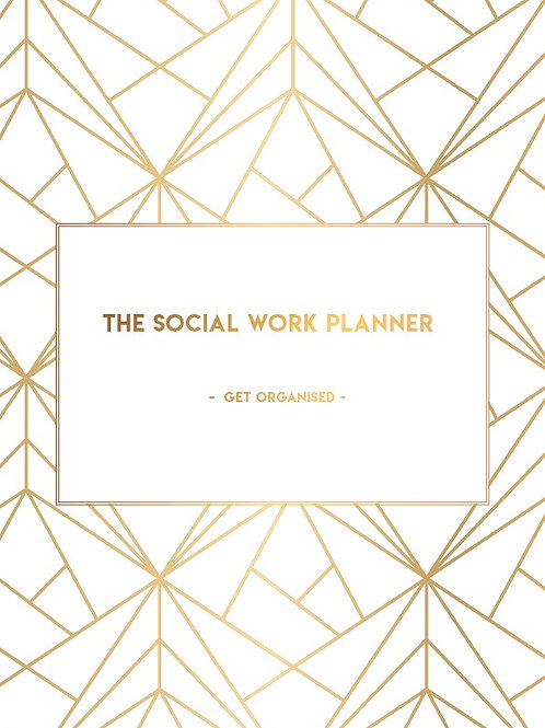 2021  | Social work Planner | One day per page