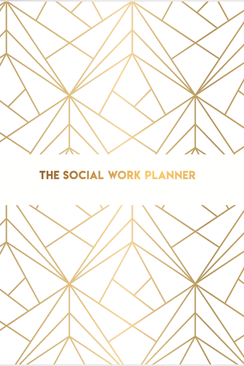 April 21 - March 22  | Social work Planner | One day per page