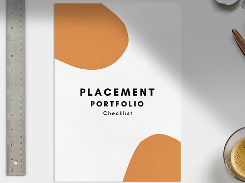STUDENT PLACEMENT GUIDE & CHECKLIST