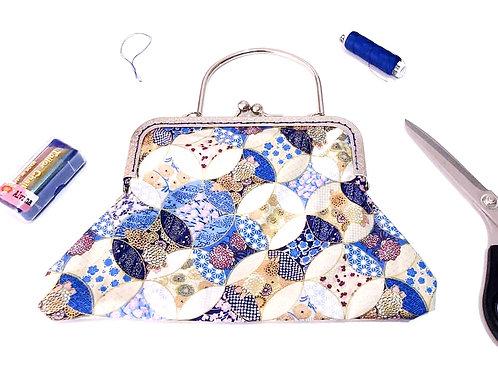 Orielle Cheongsam Bag- Blue