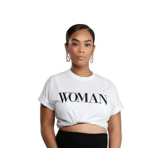 WOMAN T SHIRT (White)